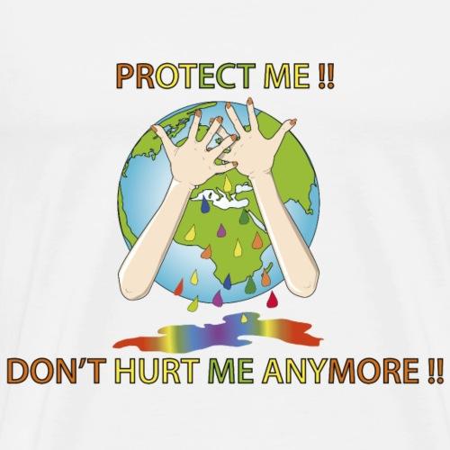 Journée mondiale de la Terre Protect me !! - T-shirt Premium Homme