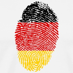 Imprint Germany Imprint with the flag Germany - Men's Premium T-Shirt