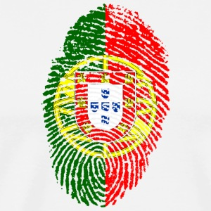 Fingerprint - Portugal - Men's Premium T-Shirt