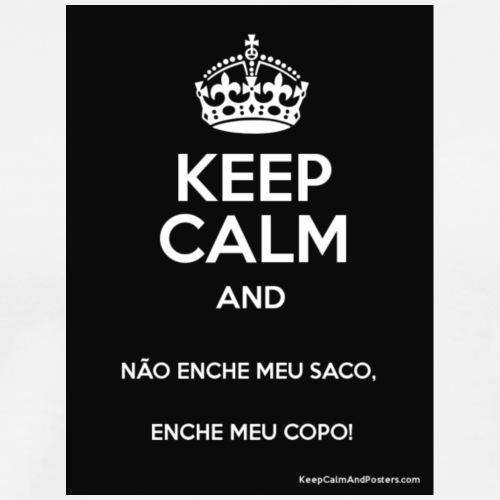 keep calm - Camiseta premium hombre
