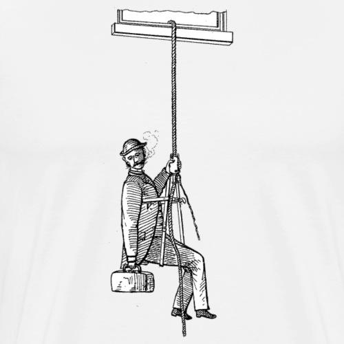 Vintage Zeichnung Style - Männer Premium T-Shirt