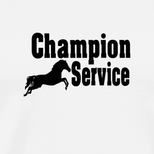 Reiten, Champions Service, Geschenk - Männer Premium T-Shirt