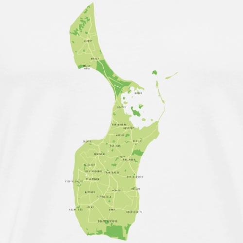 Skønne Samsø - Herre premium T-shirt