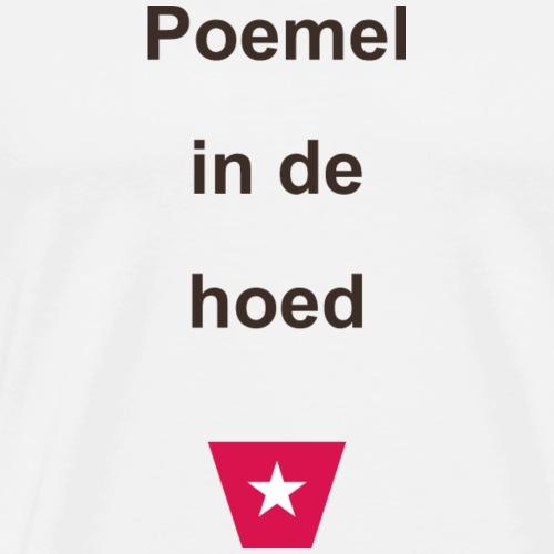 Poemelindehoed ms vert def b - Mannen Premium T-shirt