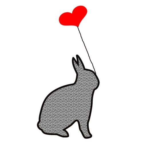 il coniglio innamorato - Maglietta Premium da uomo