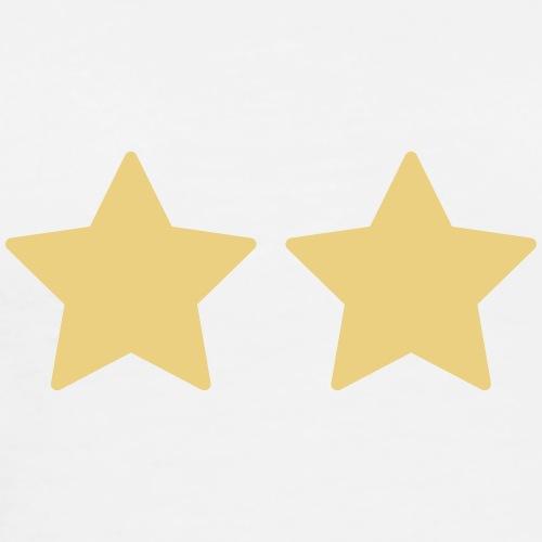 Deux étoiles - Personnalisable - T-shirt Premium Homme