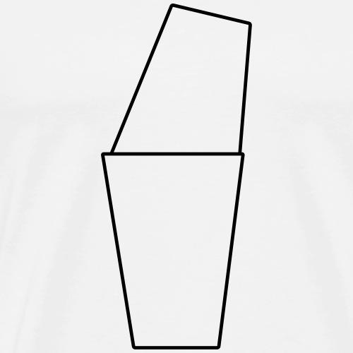 Basic Shaker Black - Männer Premium T-Shirt