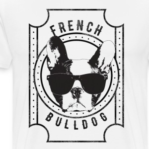 French Bulldog - Premium T-skjorte for menn