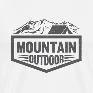Mountain Outdoor - T-shirt Premium Homme