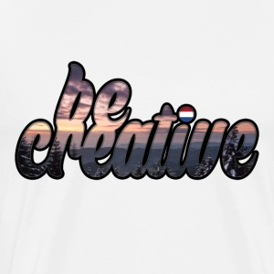 Be Creative T-shirt - Men's Premium T-Shirt