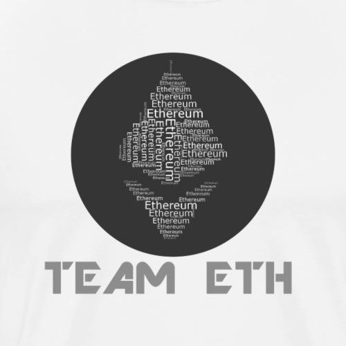 TEAM Ethereum ETH - Männer Premium T-Shirt