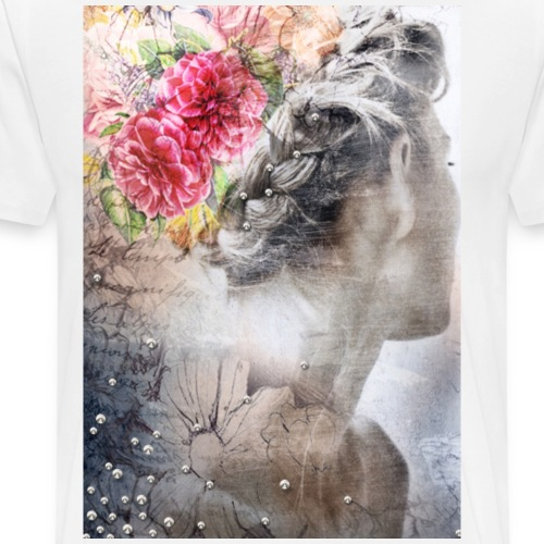 Flower Girl - Männer Premium T-Shirt