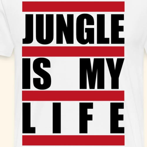 JUNGLE LOVE - Männer Premium T-Shirt