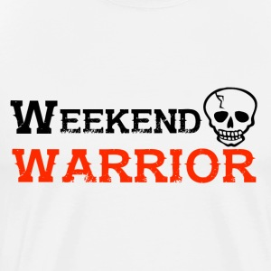 Skjorte Weekend Warrior Weekend Partiet - Premium T-skjorte for menn