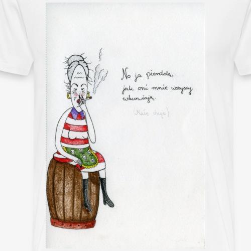 Babka - Koszulka męska Premium