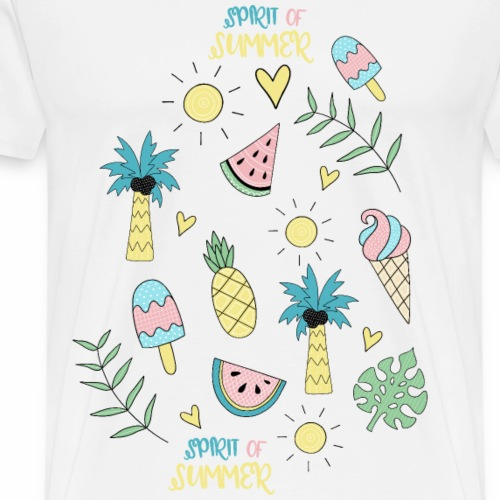 spirit of summer - Männer Premium T-Shirt