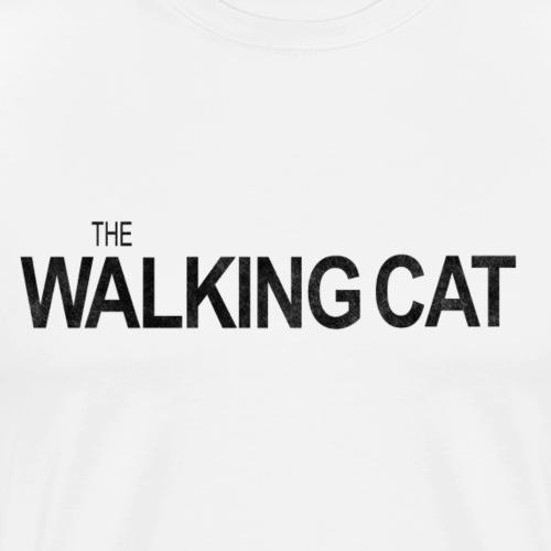 THE WALKING CAT - Männer Premium T-Shirt