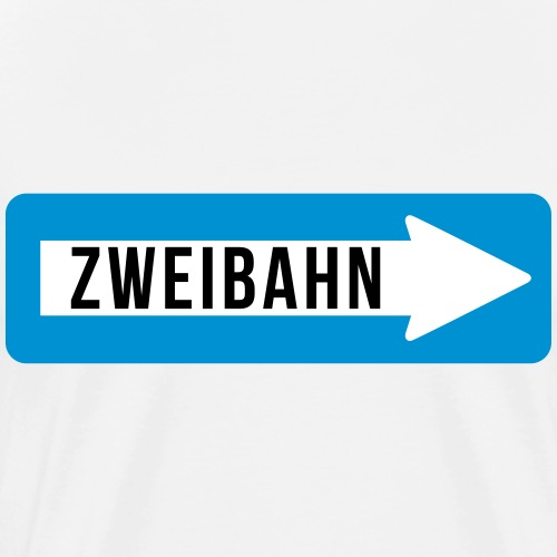 zweibahn - Männer Premium T-Shirt
