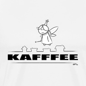 mens kaffe - Premium T-skjorte for menn
