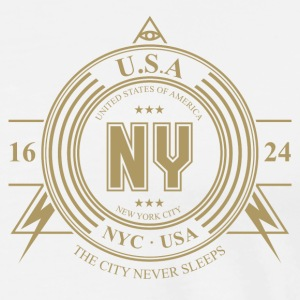 New York City - Männer Premium T-Shirt