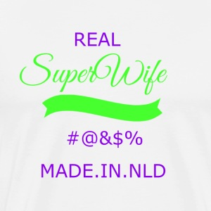 super transparent wife - Men's Premium T-Shirt