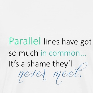 Parallel Lines 2 - Men's Premium T-Shirt
