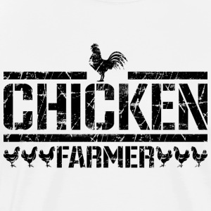 chicken farmer - Men's Premium T-Shirt