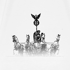 Around the World: Quadriga - Berlin - Premium-T-shirt herr