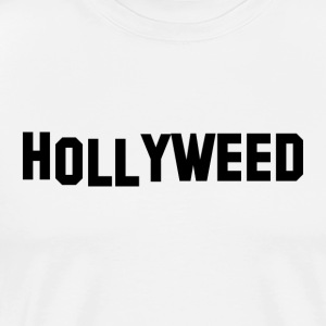 Hollyweed Svart - Premium T-skjorte for menn