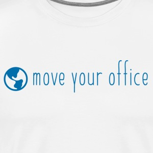 The official move your office Logo Shirt - Men's Premium T-Shirt