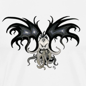 Bat Cthulhu - Men's Premium T-Shirt