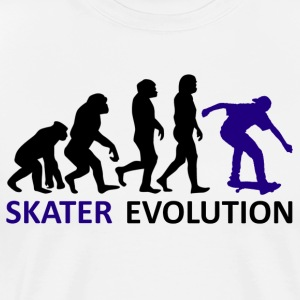++ ++ Skater Evolution - Herre premium T-shirt