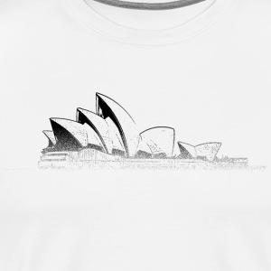 Around The World: Opera House - Sydney - Männer Premium T-Shirt