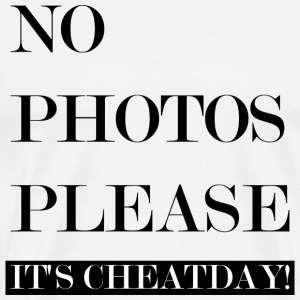 Geen foto PLEASE: CHEATDAY! - Mannen Premium T-shirt