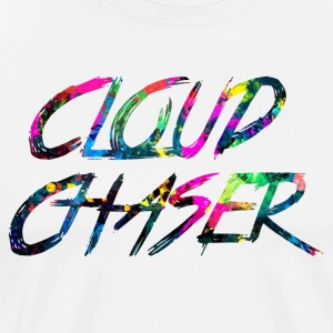 rainbow CLOUD CHASER - Men's Premium T-Shirt