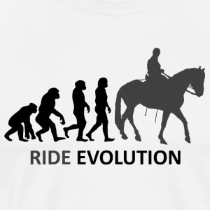 ++ ++ Ride Evolution - Men's Premium T-Shirt