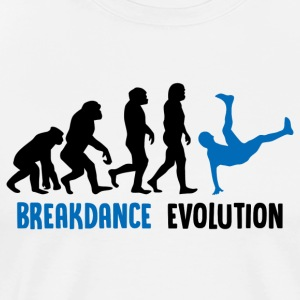 ++ ++ Breakdance Evolution - Mannen Premium T-shirt