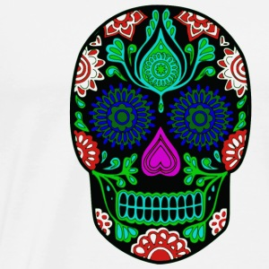 colorful skull - Men's Premium T-Shirt