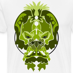 Jade Monkey Demon - Premium-T-shirt herr