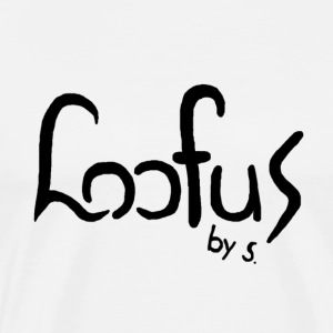 Loofus By S. WHITE - Mannen Premium T-shirt