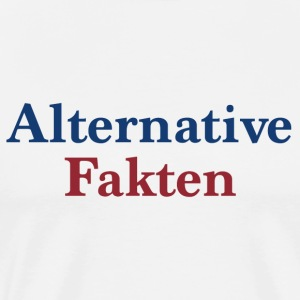 alternativa Fakta - Premium-T-shirt herr