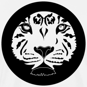 tiger circle - Men's Premium T-Shirt