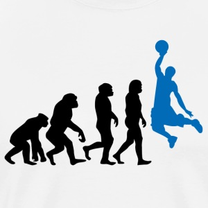 ++ Basketball Slam Dunk Evolution ++ - Mannen Premium T-shirt