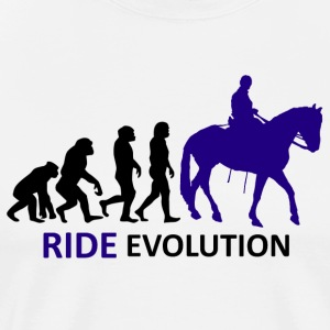 ++ ++ Ride Evolution - Mannen Premium T-shirt