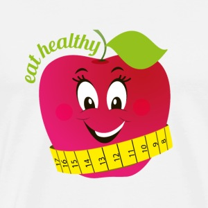 Eat healthy - Männer Premium T-Shirt