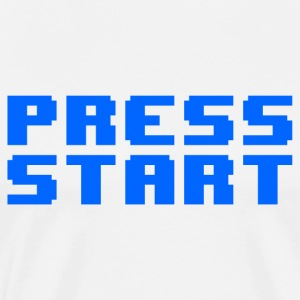 Press Start - Maglietta Premium da uomo