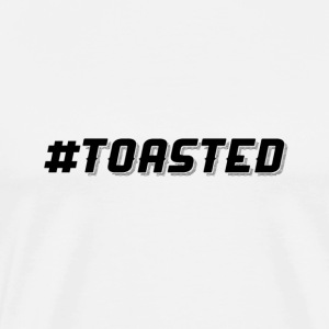 #TOASTED Hashtag Design - Men's Premium T-Shirt