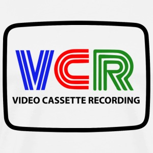 VIDEO CASSETTE RECORDING - Mannen Premium T-shirt