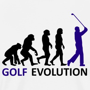 ++ ++ Golf Evolution - Herre premium T-shirt