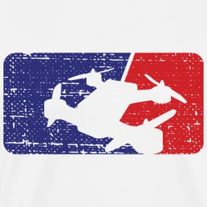 Drone Racing Distressed - Men's Premium T-Shirt